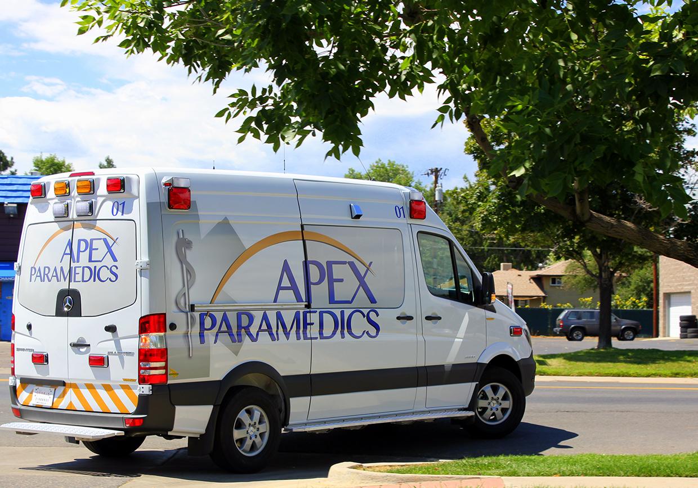 Apex Paramedics home page slider 1 image